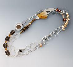 I Love Jewelry, Jewelry Art, Jewelry Design, Cool Necklaces, Jewelry Necklaces, Beaded Bracelets, Artisan Jewelry, Handmade Jewelry, Rings Cool