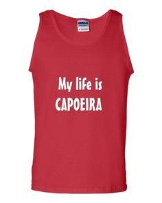Camiseta Chico My Life is Capoeira  #Hapkido #ArtesMarciales #Taekwondo #Judo #Karate #Muay #Boxeo #BJJ #Ninjutsu #SoloArtesMarciales