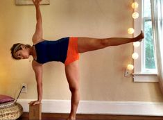 This one-legged balance pose strengthens your core and lower-back muscles... and helps you learn to breathe!