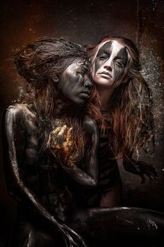 Studio Stefan Gesell with his Girls KC and Rassamee! Picture and work me