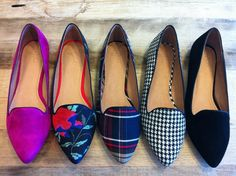 Love the blue plaid...does houndstooth come in navy?  So many choices!