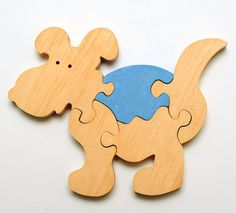 This hand cut tree puzzle is perfectly sized for little hands, with rounded edges and an all natural polish. With only 6 puzzle pieces, this is a nice beginner puzzle.They are completely safe. Made from real wood. This puzzle also can be as home decoration part.  Recommended for kids aged 3 years and over.  We do not recommend using these toys when playing with the water or placing painted toys to the mouth.  ITEM DETAILS: Parts: 5 Color: As shown in the picture Size: 15cmx12cmx1,4cm…