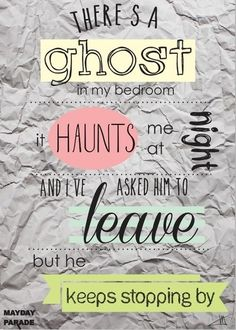 Ghosts  Mayday Parade