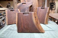 Live edge cutting boards
