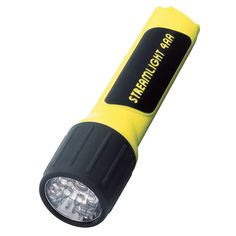 4AA LED - Flashlight Without Batteries, Yellow (Boxed)
