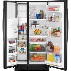 Freezer Capacity (Cu Ft):6.8 Kenmore 51799 Black Side-by-Side Fridge