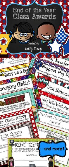A great way to recognize your students with an award they've worked all year for {without even knowing}!