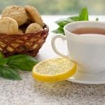 Gluten Free Lemon and Coconut Shortbread Cookies