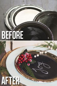 Last Friday I posted about my rustic Christmas tablescape and mentioned there were a ton of DIY's hidden...