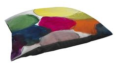 Thumbprintz Fleece Top Toy or Small Breed Pet Bed, The Party 1, Multi Colored -- Details can be found by clicking on the image.