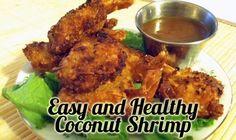 easy and healthy coconut shrimp recipe