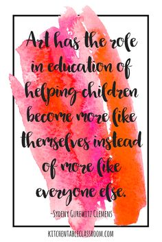 """Homeschool mamas have a lot of things on their """"to teach"""" list.It's easy to let the extras like home school art slide because they seem less than necessary."""