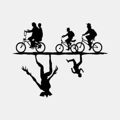 Image result for stranger things silhouette