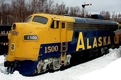 F7 #1500 at the Museum of Alaska Transportation and Industry by Patrick Durand: