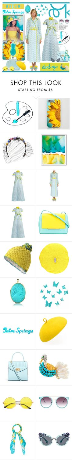 """In La La Land: Spring Dresses"" by yours-styling-best-friend ❤ liked on Polyvore featuring Behance, LASplash, Piers Atkinson, West Elm, Delpozo, Marmot, Lowie, TIKI, Del Gatto and Mademoiselle Slassi"