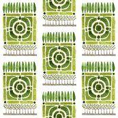 Knot Garden Removable Wallpaper - Spoonflower