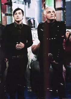 Frank Iero and Gerard Way ~ My Chemical Romance