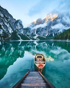 Lake Braies (Italy) by Thomas Flensted / 500px
