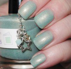 Lothlorien matte shimmer nail polish 15 mL .5 by TheLadyVarnishes, $10.00