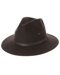 FALLENBROKENSTREET THE RATATAT HAT - CHOCOLATE  hats  Autumn  Style  T3   Woman 582762b752a3