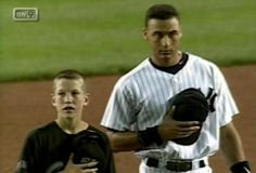Todd Frazier met Derek Jeter a while back. Jeter, was playing for the Yankees; Frazier for the Toms River New Jersey little league team. Today, they are both in the Majors. #TBT #ThrowBackThursday www.reds.com