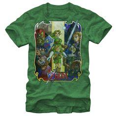 Mens The Legend of Zelda Ocarina Legend Mens T-Shirt