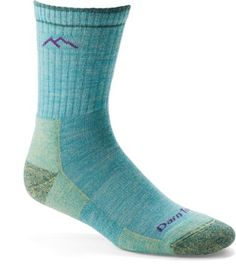 Darn Tough Hiker Micro Crew women& socks provide miles of comfort and durability—trail-tested on the Vermont Long Trail, these socks provide a high level of cushioned performance. Available at REI, Satisfaction Guaranteed. Running Socks, Trail Running Shoes, Running Gear, Hiking Gear, Running Women, Best Hiking Socks, Run Disney Costumes, Tough Woman, Hiking Essentials