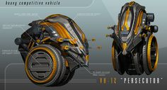 Concept cars and trucks: Heavy Competitive Vehicle concept by Vladimir Aranovich