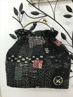 Boro inspired purse. Fun to make.