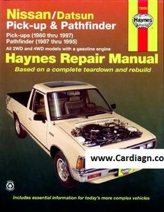 Haynes gm a cars auto repair manual no 829 1982 1989 pontiac 6000 with nissan datsun pick up and pathfinder haynes repair manual you can do it yourself from simple maintenance to basic repairs solutioingenieria Image collections