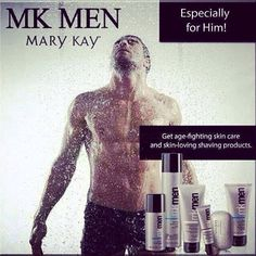 Mary Kay special formula for men!  Treat the MVP in your life with the gift of great skin
