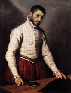 Il sarto, Giovanni Battista Moroni, 1570, National Gallery. Londra