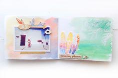 Lydille Mini Album Watercolor