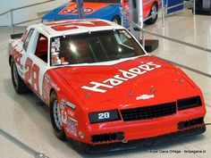 Cale Yarborough - 1983 Chevrolet Montecarlo @ NASCAR Hall Of Fame
