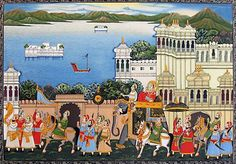 #Art #Paintings #Creative #Minds #Tourists #Luxury #Train #MaharajasExpress #Incredible #India