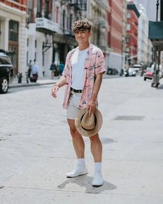 130 vintage summer outfits ideas that you must try nowaday - 130 vintage summer outfits ideas that you must try nowaday - page 18 Korean Summer Outfits, Vintage Summer Outfits, Summer Outfit For Teen Girls, Casual Summer Outfits, H M Outfits, Mode Man, Stylish Mens Outfits, Mode Streetwear, Mens Clothing Styles