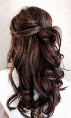Outstanding 2016 Half Up Half Down Prom Hairstyles Pinteres Hairstyle Inspiration Daily Dogsangcom