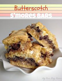 My Own Blog Review: Butterscotch S'mores Bars