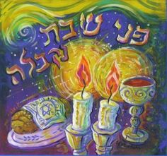 Welcoming Shabbat in