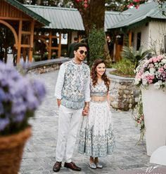 Anita Dongre's Son Just Got Married And The Pictures Are Spectacular This month is just turning out to be one big wedding affair. If you're even remotely interested in weddings, you know that Anita Dongre's Son, Yash Dongre recently got married… Couple Wedding Dress, Wedding Outfits For Groom, Indian Wedding Outfits, Indian Outfits, Ethnic Outfits, Bridal Outfits, Wedding Dresses, Latest Bridal Lehenga Designs, Lehenga Images