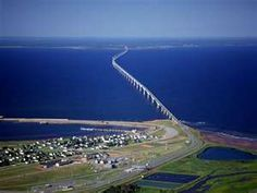New Brunswick, Canada ~ The Confederation Bridge (French: Pont de la Confédération) spans the Abegweit Passage of Northumberland Strait. It links Prince Edward Island with mainland New Brunswick, Canada. Nova Scotia, Quebec, Pei Canada, Canada Eh, Halifax Canada, Places To Travel, Places To See, New Brunswick Canada, Atlantic Canada