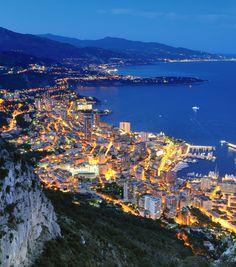 Monaco ~ The Blue Hour