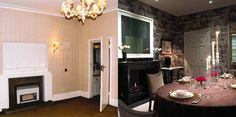 Before and After images of a dining room- to create a warm and welcoming feel Transformation Images, John Evans, Interior Architecture, Interior Design, Dining Room, Warm, Create, Home Decor, Architecture Interior Design