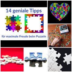 14 Tipps für Freude beim Puzzeln
