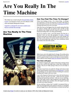 are-you-really-in-the-time-machine by David Braithwaite via Slideshare