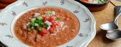 "Flamenco ""100 Calorie"" Gazpacho Soup Recipe"