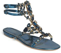 Shop for Navy Emily Sandal by Marchesa at ShopStyle. Marchesa Shoes, Shoes Sandals, Flats, Flat Shoes, Looks Great, Navy, Leather, Shopping, Women