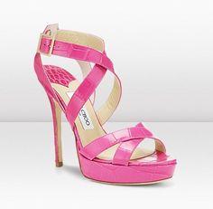 Pink Jimmy Choo's ♥