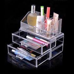 2014 новый акриловый косметический контейнер организатор ящика макияж чехол для хранения вставить держатель Box ящик для хранения косметика чехол, принадлежащий категории Ящики для хранения и относящийся к Для дома и сада на сайте AliExpress.com | Alibaba Group