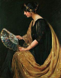 Elizabeth R. Finley,The Japanese Fan,Early 20th century